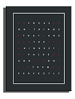 economico -Stampa Stampe a tela - Caratteri / Fantasia Modern