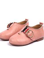 Недорогие -Девочки Обувь Полиуретан Весна лето Удобная обувь На плокой подошве Для прогулок для Для подростков Белый / Черный / Розовый