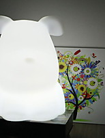 cheap -1pc LED Night Light White Cartoon / Creative 5 V