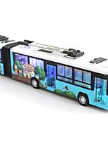 Недорогие -Игрушечные машинки Автобус Транспорт / Автобус Вид на город / Cool / утонченный Металл Все Для подростков Подарок 1 pcs
