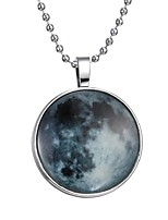 cheap -Men's Luminous Stone Long Pendant Necklace - Creative Fashion Blue 60 cm Necklace 1pc For Halloween, Club