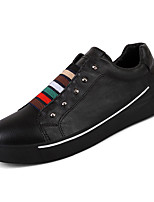 cheap -Men's Faux Leather / PU(Polyurethane) Summer Comfort Sneakers Color Block White / Black / Gray