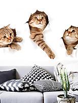 abordables -stickers muraux décoratifs mignons drôles d'animaux - stickers muraux avion / stickers muraux animaux animaux intérieur / chambre d'enfant