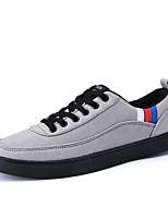 cheap -Men's PU(Polyurethane) Fall Comfort Sneakers Black / Gray / Red