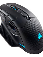 economico -USCORSAIR USB cablato / Bluetooth senza fili Gaming mouse / topo ufficio Optical DARK CORE RGB 9 pcs chiavi Luce RGB 7 tasti programmabili 16000 dpi