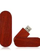 preiswerte -Ants 2GB USB-Stick USB-Festplatte USB 2.0 Holz / Bambus Rotierend