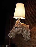 baratos -Legal Vintage Luminárias de parede Sala de Estar Resina Luz de parede 220-240V 40 W