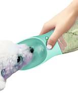 cheap -0.35 L L Dogs / Rabbits / Cats Bowls & Water Bottles Pet Bowls & Feeding Waterproof / Mini / washable Blue / Pink