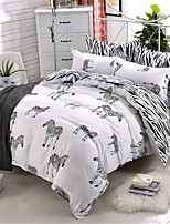 cheap -Duvet Cover Sets Geometric 100% Cotton Applique 3 Piece