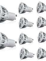cheap -10pcs 5 W 400 lm GU10 LED Spotlight 3 LED Beads High Power LED Decorative Warm White / Cold White 85-265 V