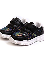 cheap -Girls' Shoes PU(Polyurethane) Spring & Summer Comfort Athletic Shoes Walking Shoes Sequin for Teenager White / Black / Pink