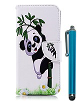 cheap -Case For Nokia Nokia 5.1 / Nokia 3.1 Wallet / Card Holder / with Stand Full Body Cases Panda Hard PU Leather for Nokia 8 / Nokia 6 2018 / Nokia 5.1