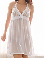 cheap -Women's Suits Nightwear - Lace, Solid Colored