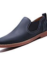 cheap -Men's PU(Polyurethane) Fall Comfort Loafers & Slip-Ons Blue / Light Brown / Dark Brown