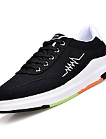cheap -Men's Canvas Fall Comfort Sneakers White / Black / Gray