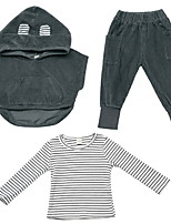 cheap -Toddler Boys' Basic Solid Colored Long Sleeve Clothing Set