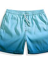 economico -Per uomo Pantaloncini da mare Ultra leggero (UL), Asciugatura rapida, Traspirante POLY Costumi da bagno Abbigliamento mare Boxer da surf / Pantaloni Multicolor Surf / Spiaggia / Sport acquatici