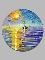 economico -Hang-Dipinto ad olio Dipinta a mano - Paesaggi Contemporaneo / Modern Tela