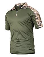 baratos -Homens Camiseta de Trilha Ao ar livre Secagem Rápida, Vestível, Respirabilidade Camiseta N / D Acampar e Caminhar / Exercicio Exterior / Multi-Esporte