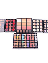 cheap -MISS ROSE 5 Eye Shadow / Powders EyeShadow Waterproof / Fashionable Design / Mineral Long Lasting Natural Daily Makeup / Party Makeup Makeup Cosmetic