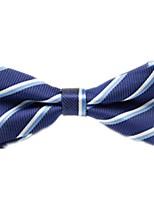 baratos -Unisexo Trabalho / Básico Gravata Borboleta - Laço Listrado / Estampado / Estampa Colorida
