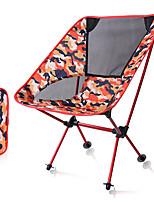 cheap -Camping Folding Chair Outdoor Lightweight Aluminium alloy, 600D Polyester for Hiking / Beach / Camping - 1 person Green / Dark Blue / Fuchsia