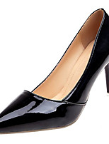 cheap -Women's Shoes PU(Polyurethane) Summer Basic Pump Heels Stiletto Heel Pointed Toe Black / Pink / Almond