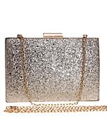 cheap -Women's Bags PVC(PolyVinyl Chloride) / Alloy Evening Bag Sequin Red / Fuchsia / Silver