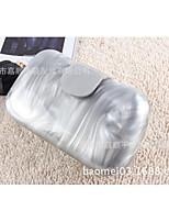 cheap -Women's Bags Acrylic Evening Bag Buttons White