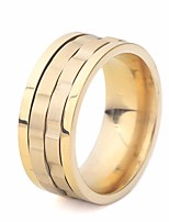 cheap -Men's Classic / Stylish Ring - Titanium Steel Creative Stylish, Classic, European 6 / 7 / 8 Gold / Silver For Daily / Street