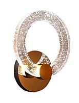 preiswerte -QIHengZhaoMing Kristall LED / Modern / Zeitgenössisch Wandlampen Shops / Cafés / B¨¹ro Metall Wandleuchte 110-120V / 220-240V 10 W