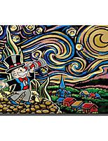 economico -Stampa Stampe a tela - Astratto / Cartoni animati Modern