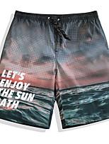 cheap -Men's Swimming Trunks / Swim Shorts Ultra Light (UL), Quick Dry, Breathable POLY Swimwear Beach Wear Board Shorts / Bottoms Surfing / Beach / Watersports