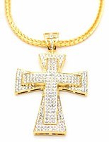 cheap -Men's Vintage Style / Stylish Pendant Necklace / Chain Necklace / Necklace - Gold 76 cm Necklace 1pc For Street, Club