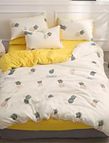 cheap -Duvet Cover Sets Solid Colored Polyster Applique 3 Piece