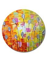 Недорогие -Hang-роспись маслом Ручная роспись - Цветочные мотивы / ботанический Современный / Modern холст