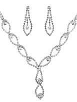 cheap -Women's Stylish / Hollow Out Jewelry Set - Classic, Sweet, Elegant Include Necklace Silver For Wedding / Party