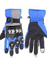 baratos -RidingTribe Dedo Total Unisexo Motos luvas Aço Inoxidável / Microfibra / Algodão Sensível ao Toque / Prova-de-Água / Manter Quente