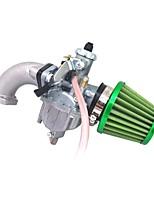 Недорогие -mikuni бренд vm22 карбоновый воздушный фильтр 26mm коллектор входной вход карбюратор прокладка комплект 125cc