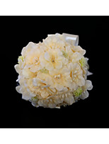 baratos -Bouquets de Noiva Buquês / Decorações Casamento / Festa de Casamento Silk como cetim / Flôr Seca / Poliéster 11-20 cm