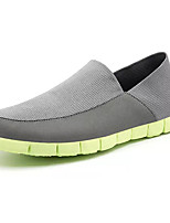 cheap -Men's Canvas Spring Comfort Loafers & Slip-Ons Light Grey / Black / White