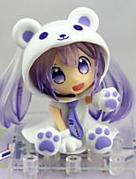 Недорогие -Аниме Фигурки Вдохновлен Вокалоид Snow Miku ПВХ 6.5 cm См Модель игрушки игрушки куклы