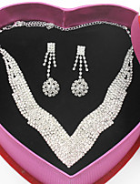 cheap -Women's Classic / Stylish Jewelry Set - Creative, Blessed Classic, Aristocrat Lolita, Fashion Include Chain Necklace / Necklace Silver For Wedding / Party