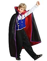 Недорогие -Косплей Инвентарь Мальчики Хэллоуин / Карнавал / День детей Фестиваль / праздник Костюмы на Хэллоуин Черный Однотонный / Halloween Хэллоуин