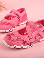 Недорогие -Девочки Обувь Сетка Весна & осень Удобная обувь / Детская праздничная обувь На плокой подошве для Лиловый / Персиковый / Розовый