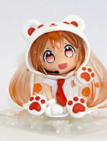 baratos -Figuras de Ação Anime Inspirado por Vocaloid Snow Miku PVC 6.5 cm CM modelo Brinquedos Boneca de Brinquedo