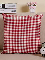 cheap -1 pcs Polyester Pillow Cover, Geometric / Plaid / Check Modern Style / Grid
