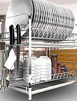 baratos -Organização de cozinha Titulares de panelas Aço Inoxidável Armazenamento / Fácil Uso 1pç