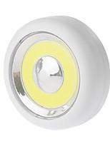 abordables -YWXLIGHT® Luz de noche LED Blanco Fresco Pilas AAA alimentadas Armario / Mueble de cocina / Libro de lectura