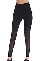 cheap -Women's Going out Sporty / Basic Legging - Solid Colored Mid Waist